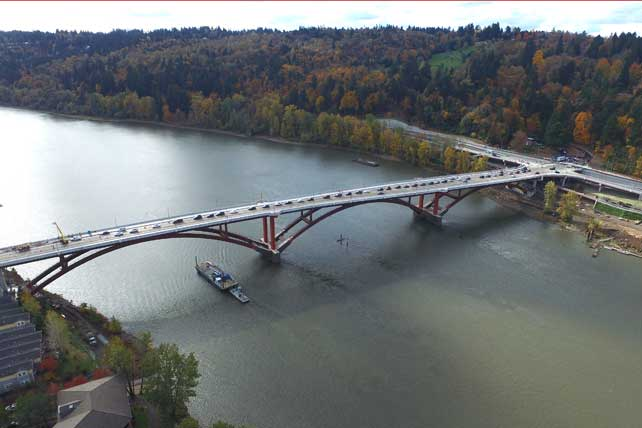Sellwood Bridge 3D InFusion Portland, Oregon
