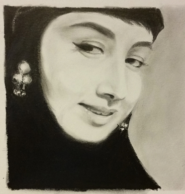 Portrait Artwork by Vijay Deodhar